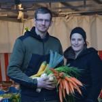 Beim Dandlbauer in Wals gibt es am Heiligen Abend die traditonelle Würstlsuppe mit Gemüse aus eigenem Anbau. Das wiederum gibt es jeden Freitag direkt ab Hof zu kaufen.  Foto: (c) LK Salzburg